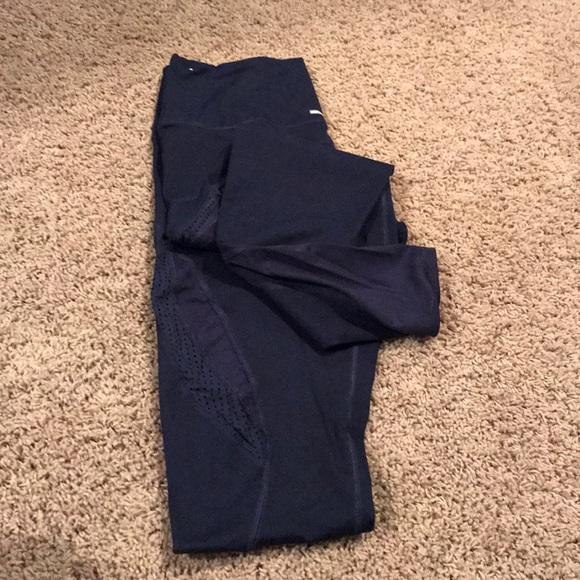 aerie Pants - Aerie Navy MOVE mesh Legging